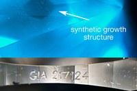 GIA обнаружил синтетический бриллиант с фальшивой надписью на рундисте